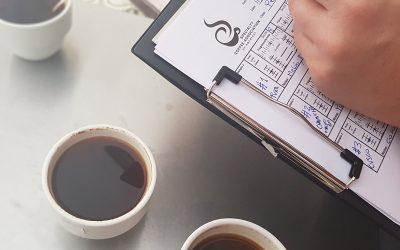 Curso de análisis sensorial de café