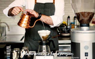 EXPERIENCIAS DE CAFÉ: Taller de elaboraciones a baja presión